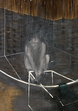 Francis Bacon, 'Figure Crouching', c. 1949