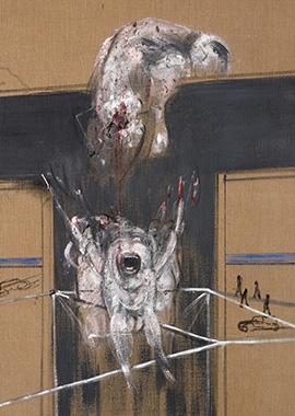 Francis Bacon, Fragment of Crucifixion, 1950