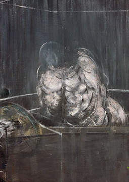 Francis Bacon, Study for a figure, 1950