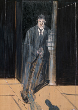 Francis Bacon, Portrait of Lucian Freud, 1951