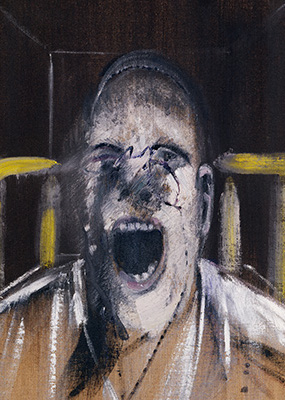 Francis Bacon, Study of a Head, 1952