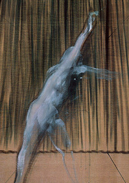 Francis Bacon, 'Figure with Raised Arm', c. 1952