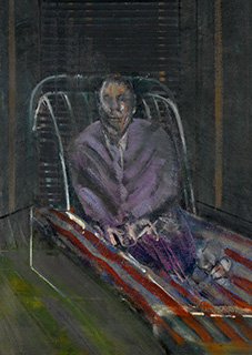Francis Bacon, 'Man on a Chaise-Longue', c. 1953