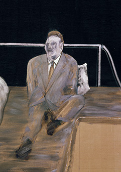 Francis Bacon, Study for Figure I, 1953