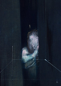Francis Bacon, Two Figures at a Window, 1953