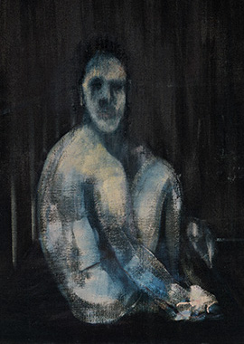Francis Bacon, Seated FIgure, 1954