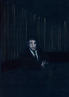 Francis Bacon, Man in Blue V, 1954