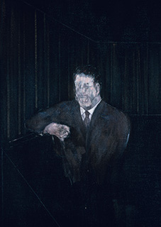Francis Bacon, Man in Blue VI, 1954