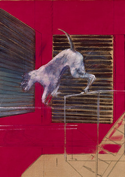 Francis Bacon, A Performing Dog, 1954