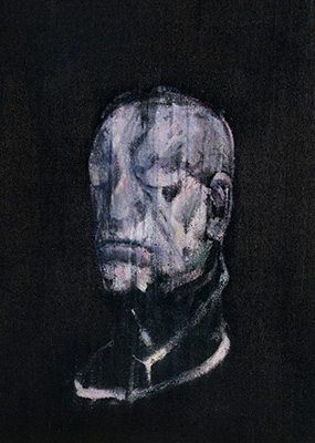 Francis Bacon, Study for Portrait III (after the Life Mask of William Blake), 1955