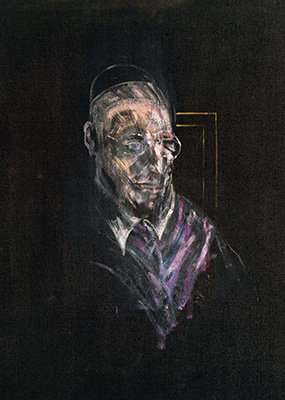 Francis Bacon, Study for a Head, 1955