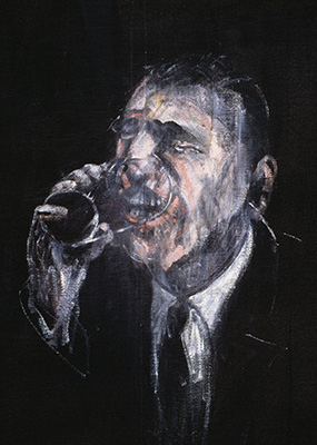 Francis Bacon, Man Drinking, 1955