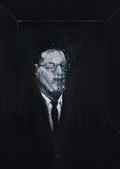 Francis Bacon, Portrait of R.J. Sainsbury, 1955