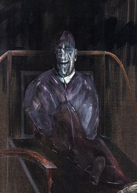 Francis Bacon, Figure Sitting, 1955