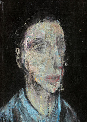 Francis Bacon, 'Lisa Sainsbury' ?, c. 1955
