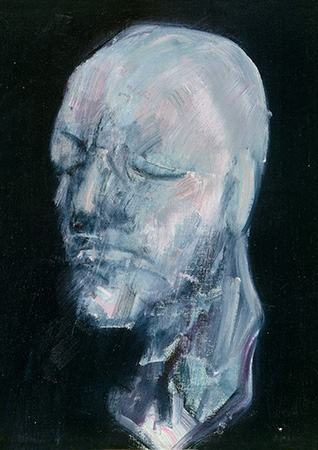 Francis Bacon, Study for Portrait V (after the Life Mask of William Blake), 1956