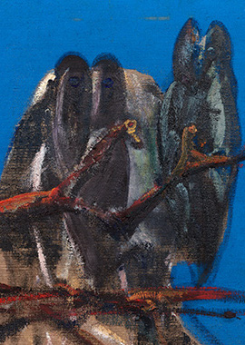 Francis Bacon, Owls 1956