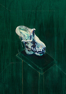 Francis Bacon, Skull of a Gorilla, 1957