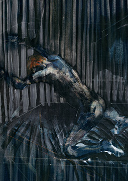 Francis Bacon, 'Figure on a Dais', c.1958