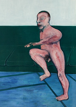 Francis Bacon, Seated Figure on a Couch, 1959