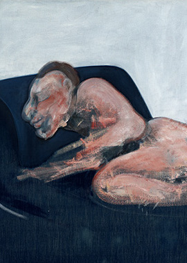 Francis Bacon, Sleeping Figure, 1959
