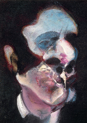 Francis Bacon, Study of George Dyer, 1970