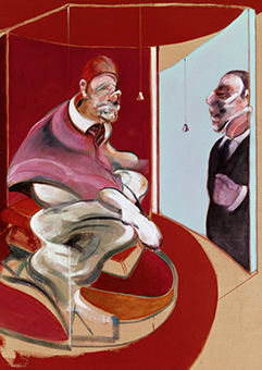 Francis Bacon, Study of Red Pope, 1962, Second Version, 1971