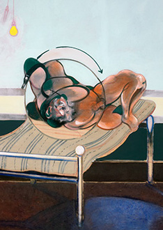 Francis Bacon, Three Studies of Figures on Beds, 1972