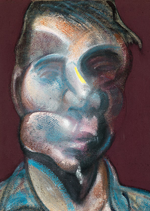 Francis Bacon, Three Studies for Self-Portrait, 1973