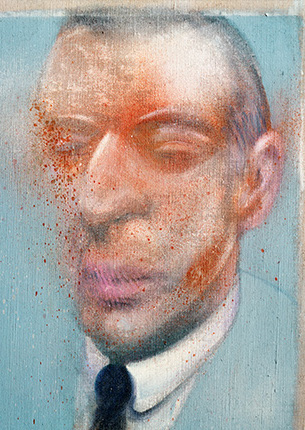 Francis Bacon, Portrait of Jean-Pierre Moueix, 1980
