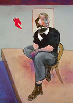 Francis Bacon, Study for Self-Portrait, 1981
