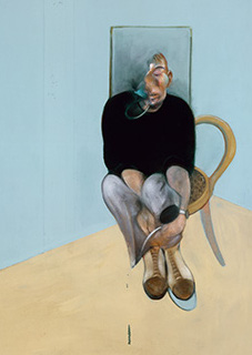 Francis Bacon, Study for Self-Portrait, 1982