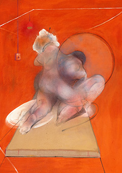 Francis Bacon, 'Kneeling Figure - Back View', c.1982