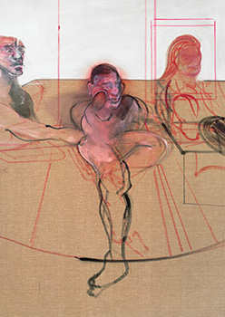 Francis Bacon, 'Three Figures', c.1982