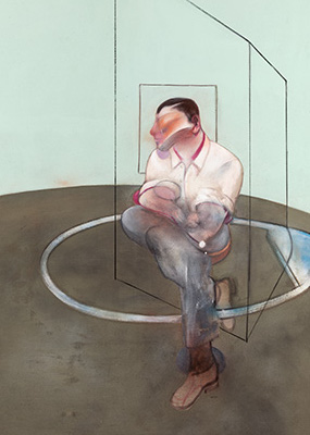 Francis Bacon, Three Studies for a Portrait of John Edwards, 1984