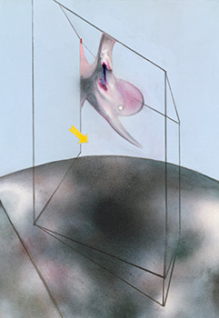 Francis Bacon, Painting March, 1985