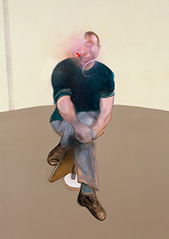 Francis Bacon, Study for a Self-Portrait - Triptych, 1985-86