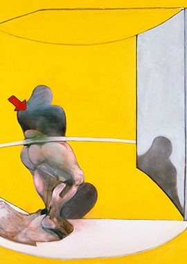 Francis Bacon, Study from the Human Body, 1986