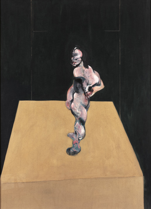 Francis Bacon, Turning Figure 1962. Oil on canvas.