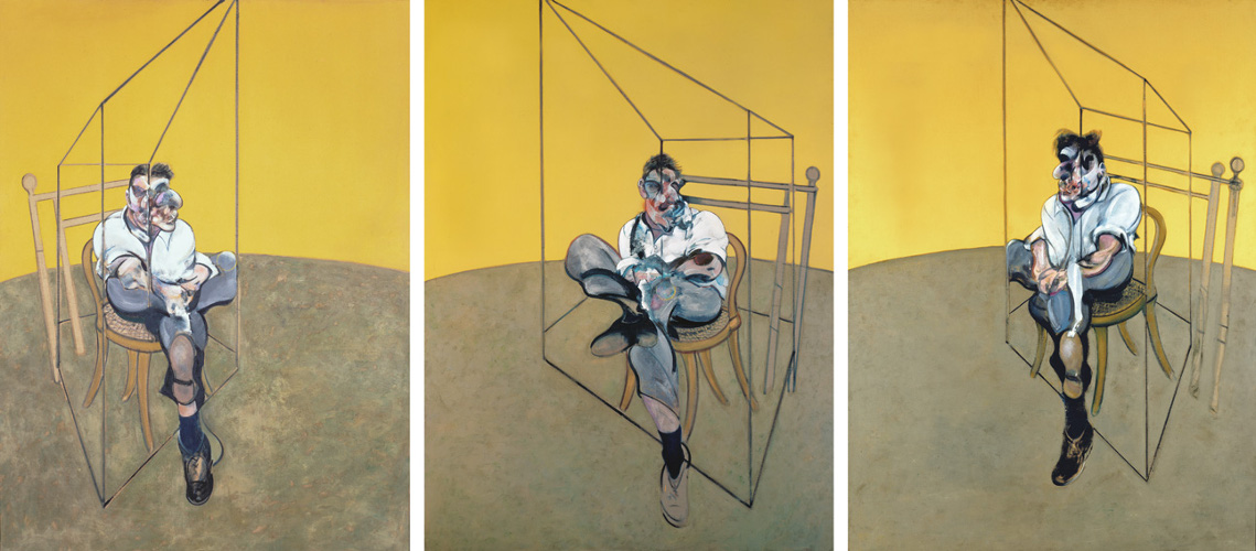 Francis Bacon, Three Studies of Lucian Freud, 1969. Oil on canvas. © The Estate of Francis Bacon. All rights reserved / DACS 2017. Catalogue Raisonné number: 69-07. One of four works utilised in the new 'Francis Bacon Teaching and Learning Resource'.