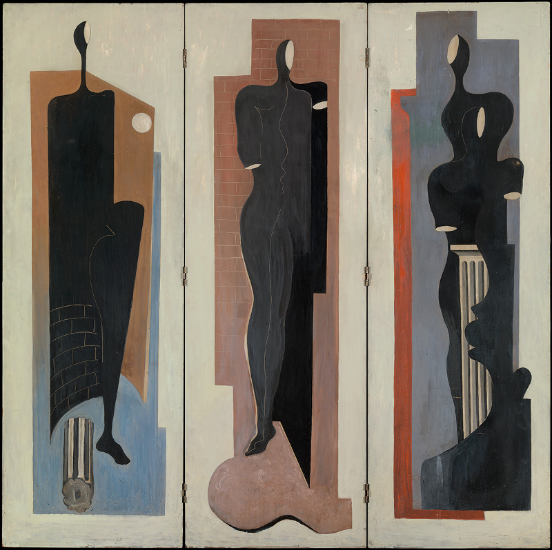 Decorative image: Francis Bacon 'Painted Screen', c.1930.