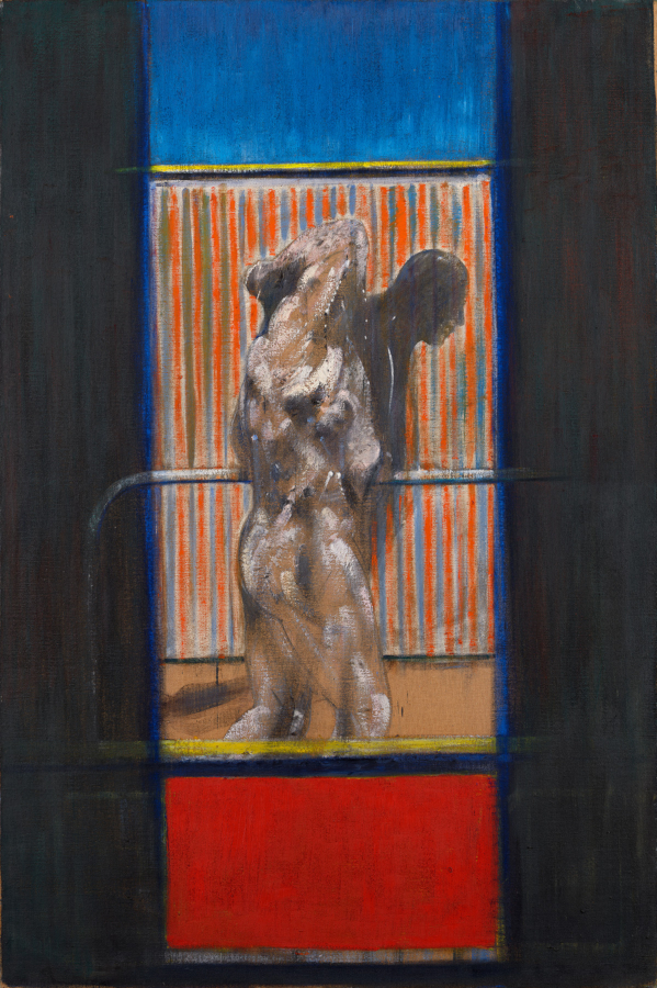 Image: Francis Bacon, Painting, 1950. Oil on canvas. Catalogue raisonné number 50-06. © The Estate of Francis Bacon / DACS London 2019. All rights reserved.