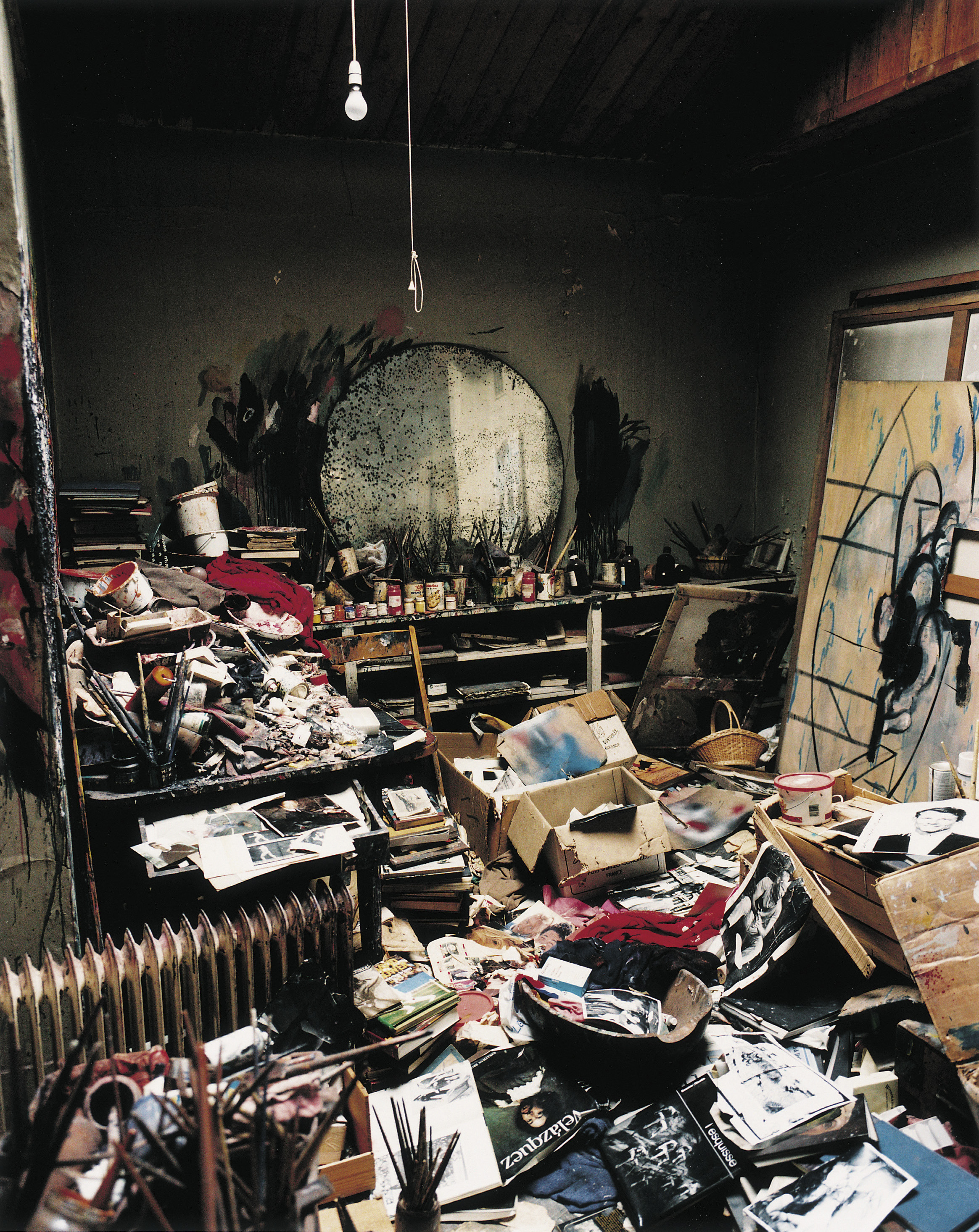 Francis Bacon's 7 Reece Mews Studio, Photograph by Perry Ogden.