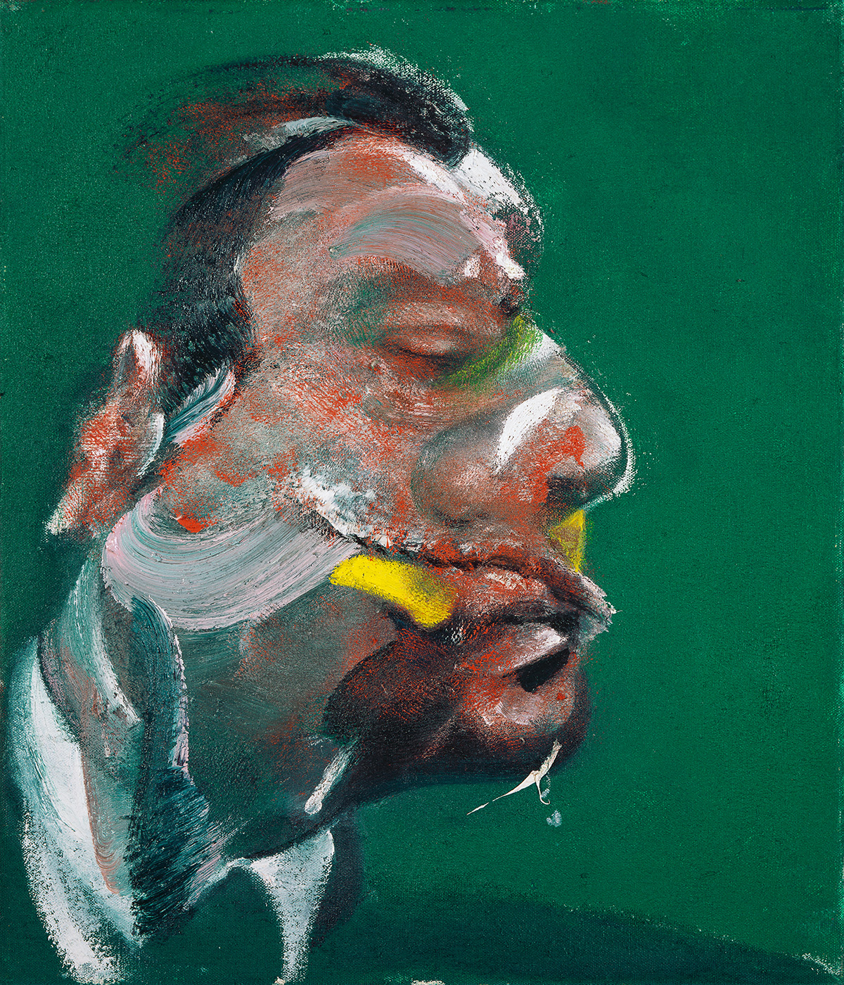 Francis Bacon, Study for Head of George Dyer, 1967. Oil on canvas. CR number 67-06. © The Estate of Francis Bacon / DACS London 2020. All rights reserved.