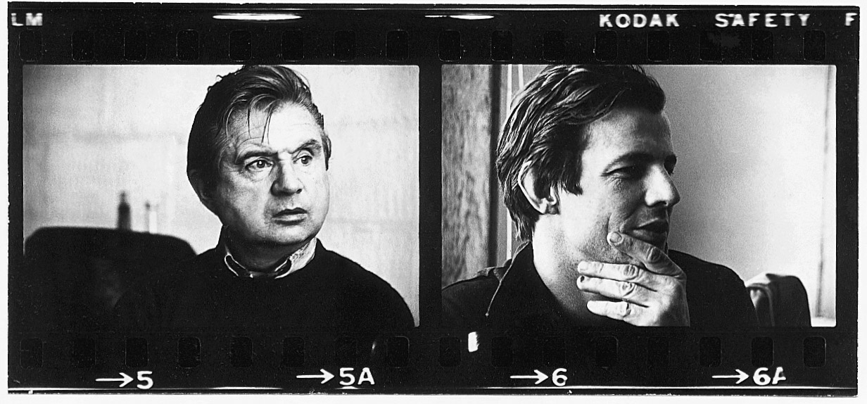 Francis Bacon and Peter Beard. Images: © The Estate of Peter Beard.