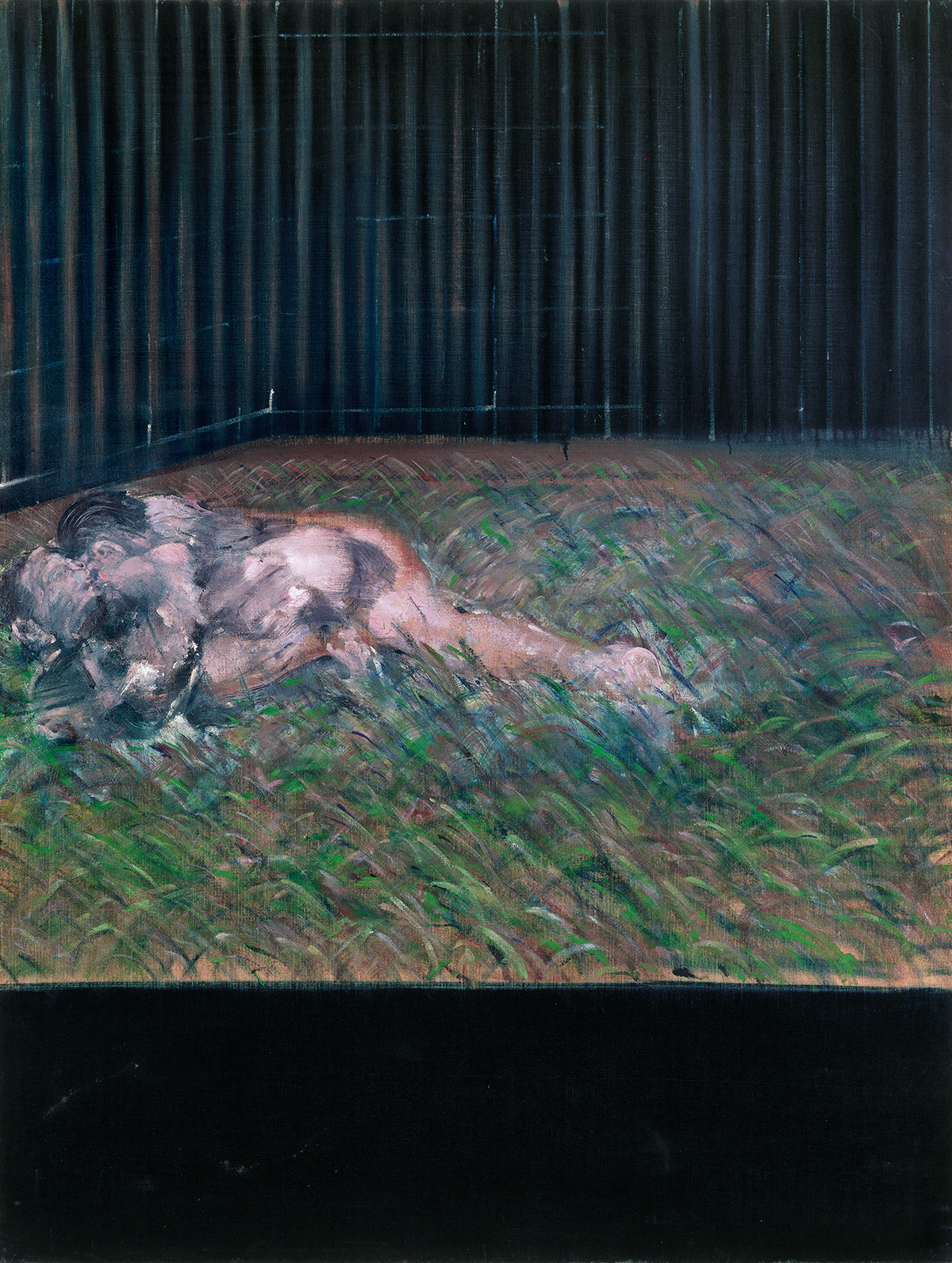 Francis Bacon, Two Figures in the Grass, 1954. Oil on canvas. CR number 54-01. © The Estate of Francis Bacon / DACS London 2020. All rights reserved.