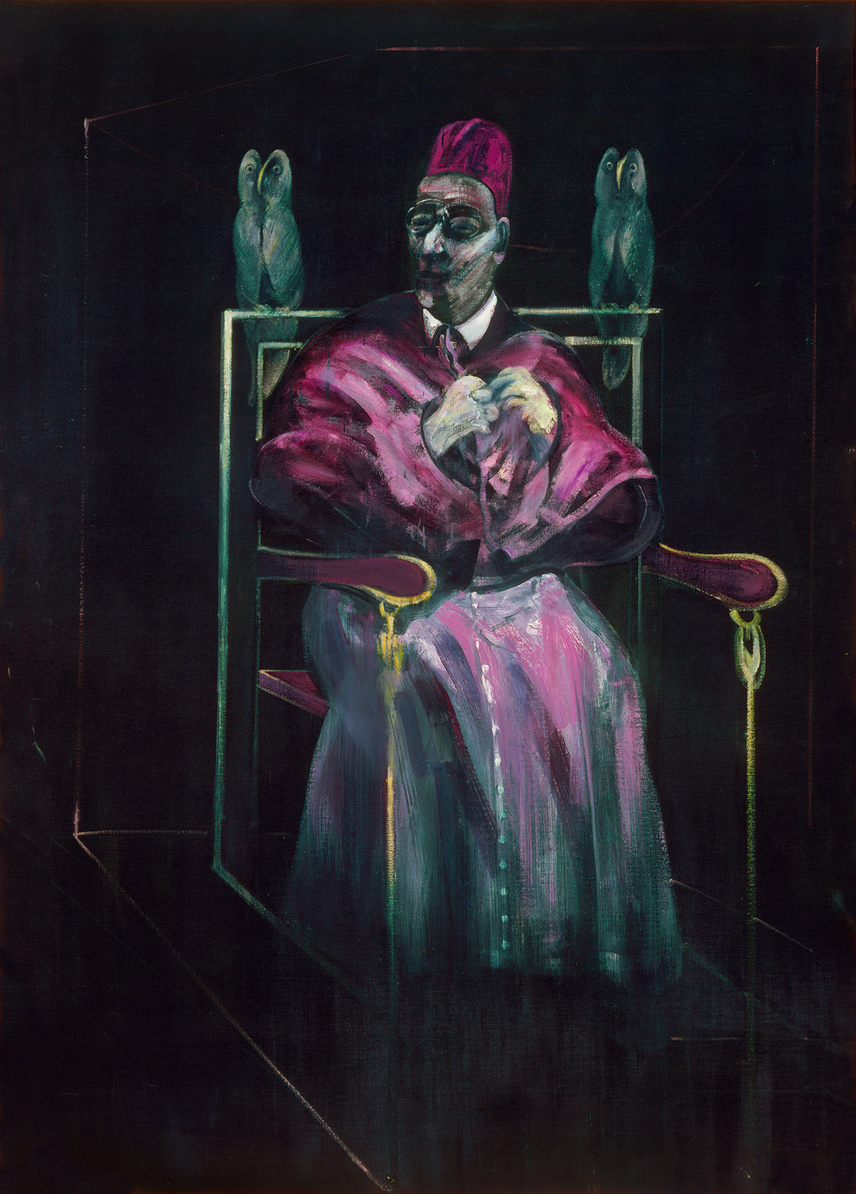 Francis Bacon, Painting, 1958. Oil on canvas. CR number 58-02. © The Estate of Francis Bacon / DACS London 2020. All rights reserved.