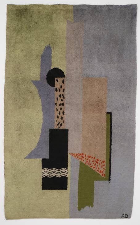 Image: Francis Bacon 'untitled' wool rug (1929) © The Estate of Francis Bacon / DACS London 2013. All rights reserved.