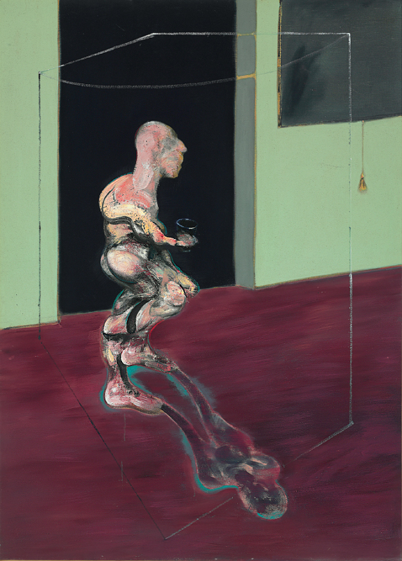 Francis Bacon, 'Figure Turning' (1962) Oil on canvas. © The Estate of Francis Bacon / DACS London 2014. All rights reserved.