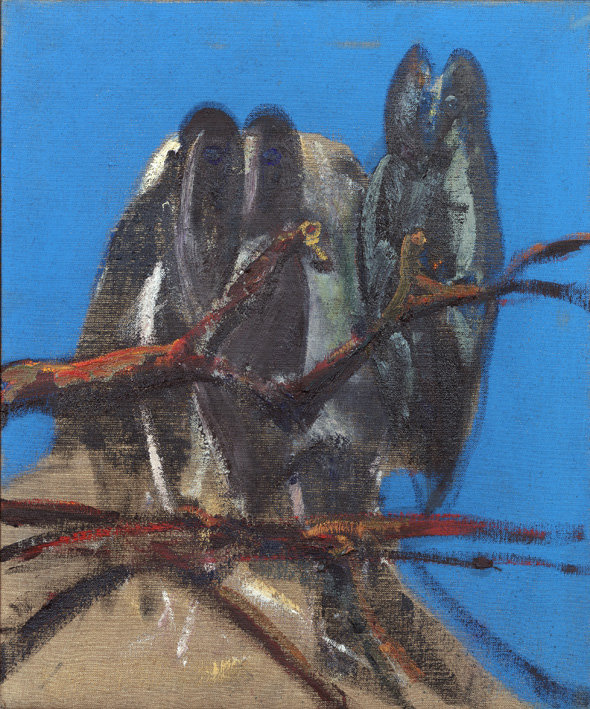 Francis Bacon, 'Owls' (1956) Oil on canvas, © The Estate of Francis Bacon / DACS London 2014. All rights reserved.